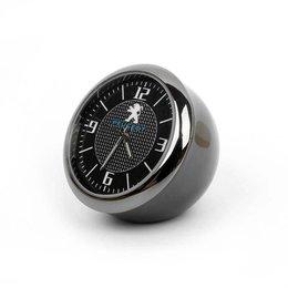 Đồng hồ trang trí xe ô tô Peugeot - Phụ kiện sang trọng và đẳng cấp