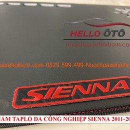 Thảm taplo da công nghiệp chống nắng Toyota sienna 2011-2020