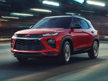 Chevrolet Traiblazer 2021 thể thao và góc cạnh hơn