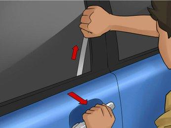 4 cách cậy cửa ôtô trong trường hợp khẩn cấp