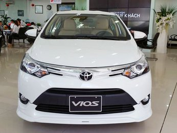 Ảnh thực tế Toyota Vios TRD 2017 giá 644 triệu vừa bán ở VN