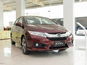 Bảng giá xe các mẫu xe ô tô Honda mới nhất, tháng 2/2017