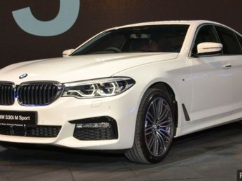 BMW 5-Series 2017 ra mắt thị trường, giá bán 2,06 tỷ đồng