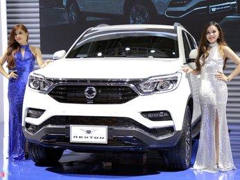 Chi tiết Ssangyong G4 Rexton - kẻ thách thức Toyota Fortuner tại VN