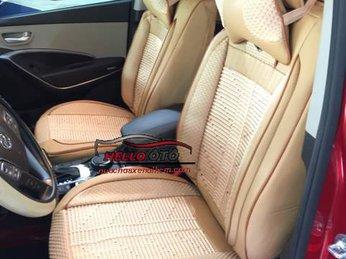 Hoạt Động Lắp Áo Ghế Ô tô 3D Hyundai Santafe 2017