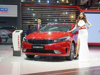 Kia Cerato hút khách, bán gần 7.000 xe trong năm 2016