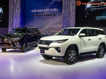 Ngắm Nghía Thiết Kế 3 Phiên Bản Của Toyota Fortuner
