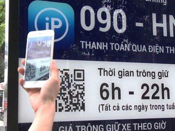 Người dùng đã có thể tìm điểm đậu xe thông qua ứng dụng trên smartphone