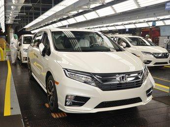 Tháng 6 này Honda Odyssey 2018 sẽ chính thức bán trên thị trường