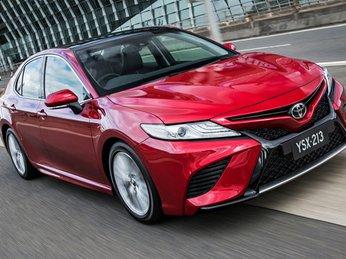 Toyota Camry 2019 lần đầu chạy thử ở Đông Nam Á