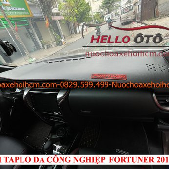 Thảm taplo Da Công nghiệp Fortuner 2017-2020