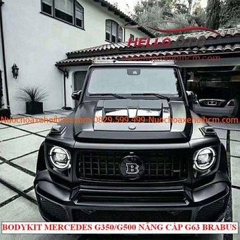 Độ Body kit Mercedes G350/G500 THÀNH G63 BRABUS