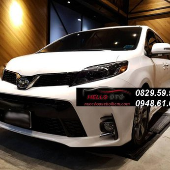 Độ BODYKIT Toyota Sienna 2010 - 2020 Mẫu 2