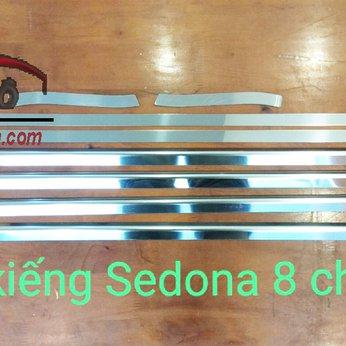 Chỉ viền cong kính Kia Sedona 2019 8 chi tiết