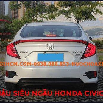 Thay cụm đèn led Liền Cốp siêu ngầu Honda Civic 2018-2020