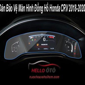 Dán Bảo Vệ Màn Hình Đồng Hồ Honda CRV 2018-2020