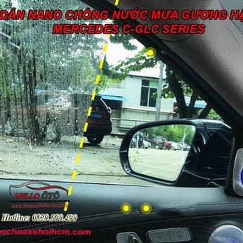 Miếng Dán Nano Chống nước mưa gương hậu và kính tài phụ Mercedes C-GLC series