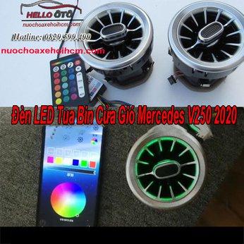 Đèn LED Tua Bin Cửa Gió Mercedes V250 2020