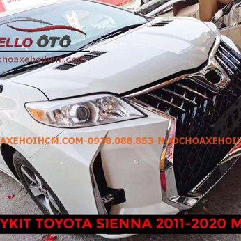 Độ BODYKIT Toyota Sienna 2010 - 2020 Mẫu 1