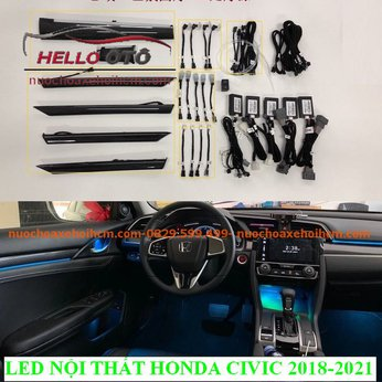 Led Nội Thất Ambient Light Honda Civic 2018-2021