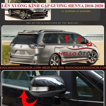 Lên Xuống Kính Gập Gương Toyota Sienna 2010-2020