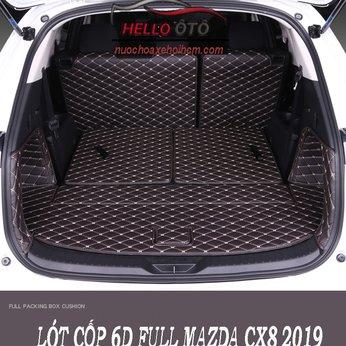 Lót Cốp 6D Mazda CX8 2019