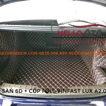 Lót Cốp 6D Vinfast Lux A2.0 2020