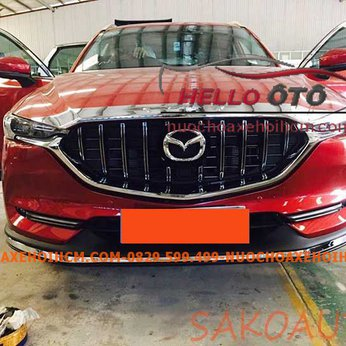 Mặt calang Mazda CX5 2019-2020 Độ Kiểu Mercedes