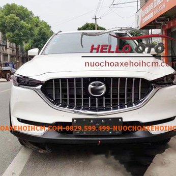 Mặt calang Mazda CX8 2019-2020 Độ Kiểu Mercedes