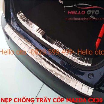 Nẹp titan cốp chống trầy Mazda CX30