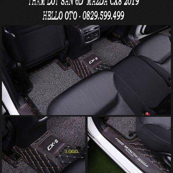 Thảm Lót Sàn Ô tô 6D Mazda CX8 2019