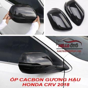 Ốp Cacbon Gương Chiếu Hậu Honda CRV 2019