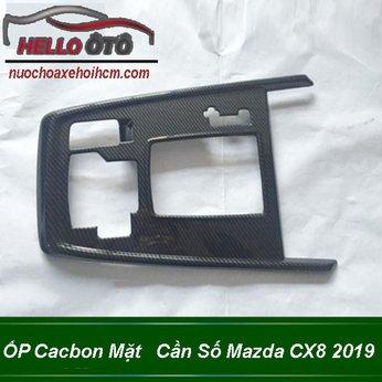 ỐP Cacbon Mặt Cần Số Mazda CX8 2019