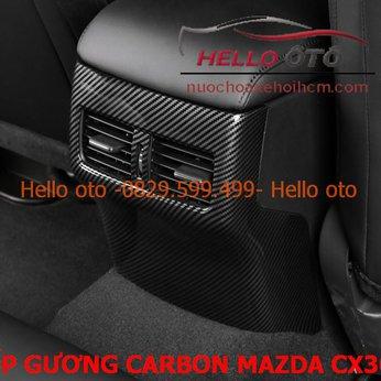 Ốp carbon bảo vệ trụ gió Mazda CX30