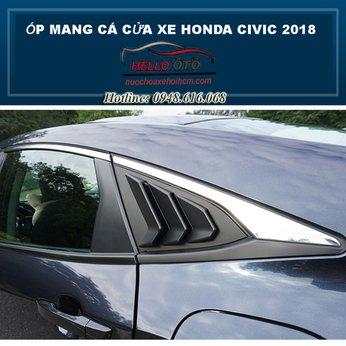Ốp Mang Cá Mập Cửa Hông Honda Civic