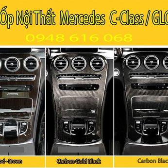 Ốp Nội Thất Mặt Cần Số Mercedes C-Class/ GLC