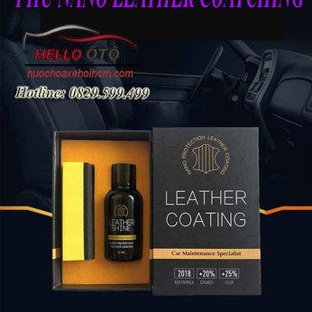 Phủ Nano Ghế Da Ô tô Leather Shine