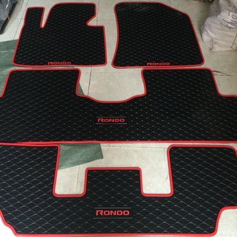 Thảm lót sàn cao su 3D kia Rondo