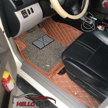Thảm lót sàn 6D Mitsubishi Pajero sport 2016