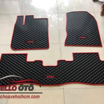 Thảm lót sàn ô tô cao su 3d hyundai Kona