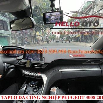 Thảm taplo da công nghiệp chống nắng Peugeot 3008 2019-2020