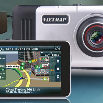 Camera Hành Trình Dẫn Đường Vietmap A45