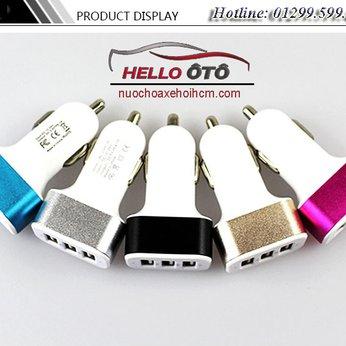 Đầu USB Sạc Điện Thoại Trên Ô tô LYLD
