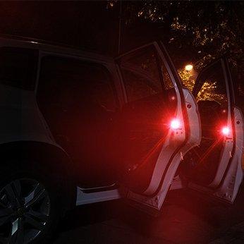 Đèn Led Cảnh Báo Mở Cửa Xe Hơi Chống Va Chạm