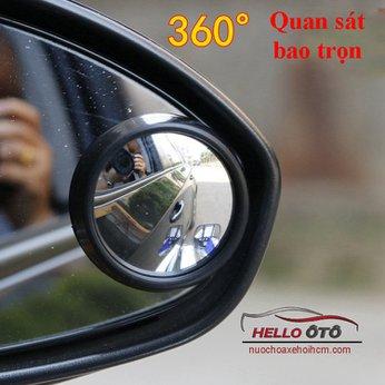 Gương phụ gắn gương chiếu hậu ô tô 360 độ