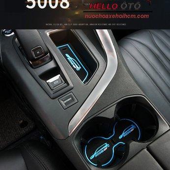 Lót Cao Su Học Để Ly Cánh Cửa Peugeot 5008