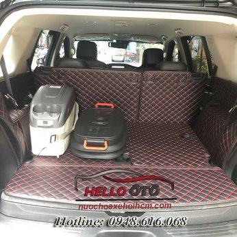 Lót Cốp Ô tô 6D Chevrolet Trailblazer 2018 Bản Full