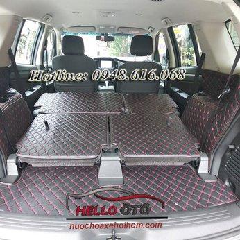 Lót Cốp Ô tô 6D Chevrolet Trailblazer 2018