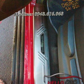 Nẹp Bước Chân Chống Trầy Chevrolet Trailblazer