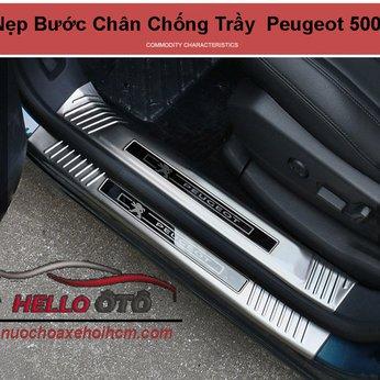 Nẹp Bước Chân Chống Trầy Trong và Ngoài Peugeot 5008